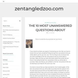 zentangledzoo.com