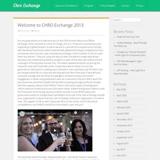 Chro Exchange -