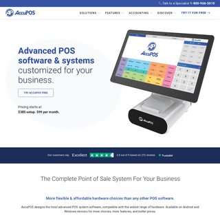 AccuPOS™ Point of Sale — Advanced POS Software & POS Systems