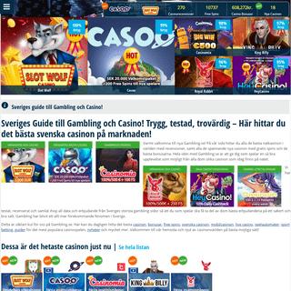 Casino Online med Gambling.se - Jämför svenska casinon!