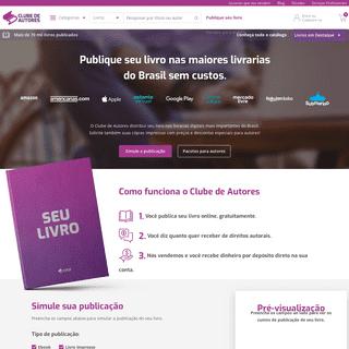 ArchiveBay.com - clubedeautores.com.br - Publique e venda seus próprios livros - Clube de Autores