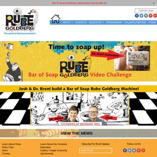 Rube Goldberg – Home of the Official Rube Goldberg Machine Contests