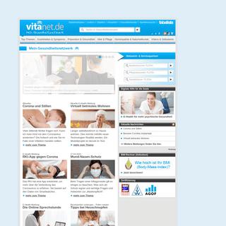 Ihr Portal für Prävention, Gesundheit & Pflege - vitanet.de