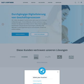 Digitalisierung von Geschäftsprozessen – EASY SOFTWARE AG