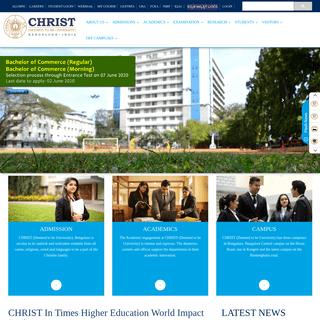CHRIST (Deemed to be University), Bengaluru - 560029