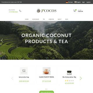 ArchiveBay.com - zrobyt.com.ua - J'COCOS - Organic Virgin Coconut Oil