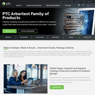 Arbortext Family of Products - PTC