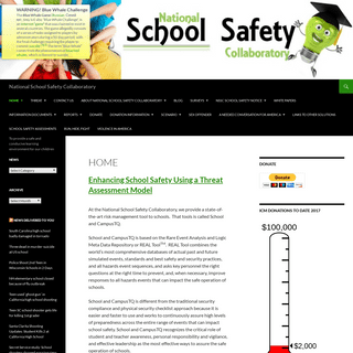 National School Safety Collaboratory - To provide a safe and conducive learning environment for our children