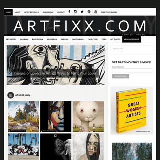Daily Art Fixx - Visual Arts Blog