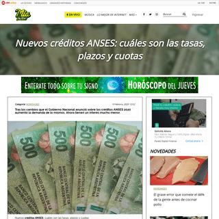 ArchiveBay.com - miafm.cienradios.com/?p=135128 - Nuevos créditos ANSES- cuáles son las tasas, plazos y cuotas
