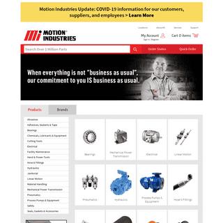 Motion Industries – Industrial Supplies, Bearings & Equipment