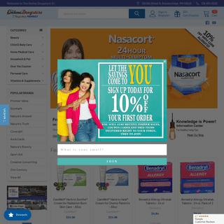 Drugstore Online - Online Health Store - Health Shop Online - The Online Drugstore
