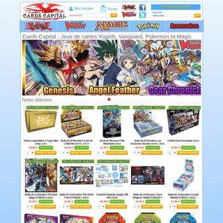 Cards Capital Jeux de cartes Yu-Gi-Oh, Vanguard, Pokémon et Magic