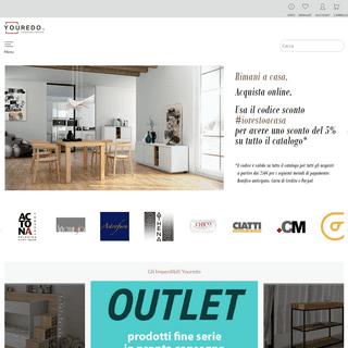 Youredo - Shop arredamento e mobili online
