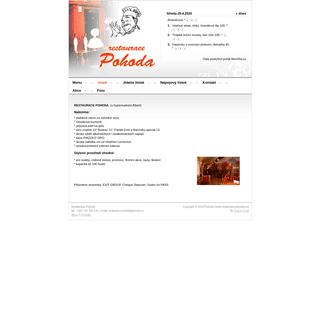 ArchiveBay.com - restaurace-pohoda.eu - Restaurace-Pohoda.eu - Úvod
