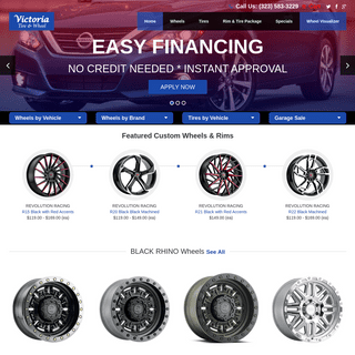 ArchiveBay.com - victoriatire.com - Custom Wheels, Chrome Rims, Wheel and Tire packages from Victoria Tire & Wheel