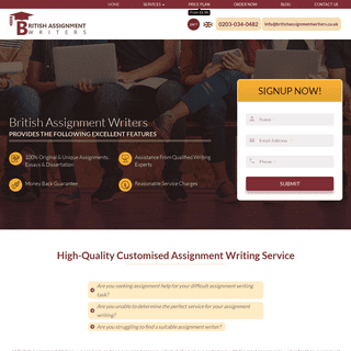 ArchiveBay.com - britishassignmentwriters.co.uk - Get Assignment Help Online And Assignment Writing Service UK