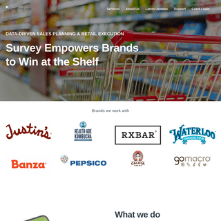 Survey.com - Retail Audits, Merchandising and Mobile Market Research