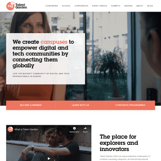 Talent Garden - Coworking, Digital Training and Networking