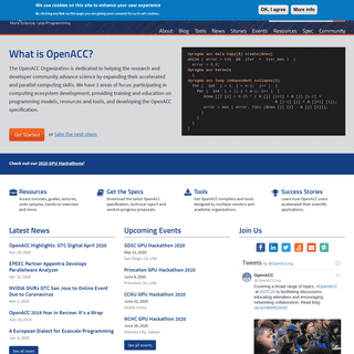 ArchiveBay.com - openacc.org - Homepage - OpenACC