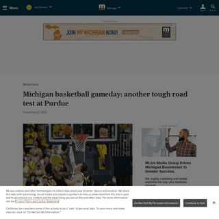 ArchiveBay.com - www.mlive.com/wolverines/2020/02/michigan-basketball-gameday-another-tough-road-test-at-purdue.html - Michigan basketball gameday- another tough road test at Purdue - mlive.com