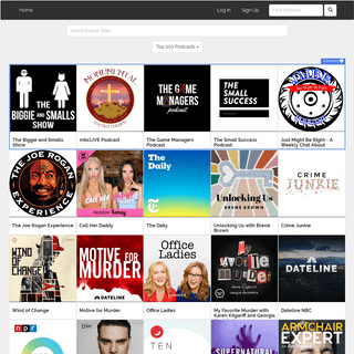 PodParadise- Listen To Podcasts Online - Online Podcast Player