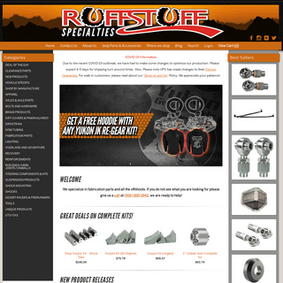 Off-Road Fabrication Parts - RuffStuff Specialties