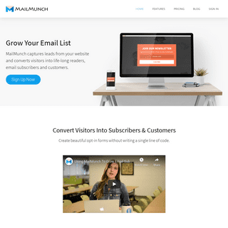 ArchiveBay.com - mailmunch.co - MailMunch – Grow Your Email List