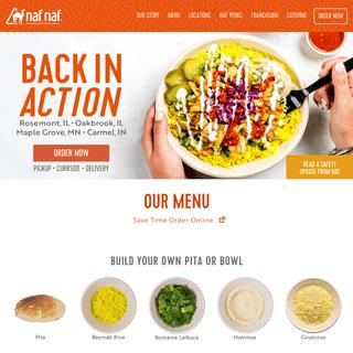 Middle Eastern Restaurant & Grill - Naf Naf Grill