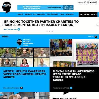Heads Together - Join the conversation - Mental Health