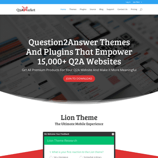 Welcome To Q2A Market - Question2Answer Themes & Plugins