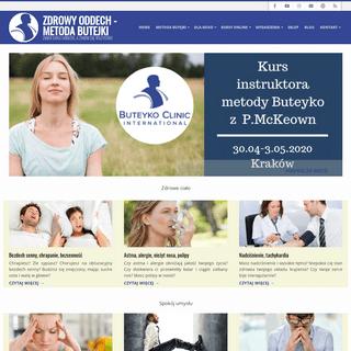 ArchiveBay.com - butejko.pl - Kursy oddychania - Zdrowy Oddech - Metoda Butejki