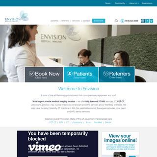 Medical Imaging Practice - Perth - Envision Medical Imaging