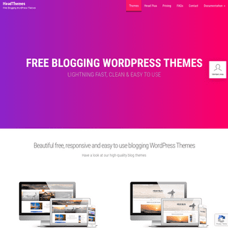 Best Free Blogging WordPress Themes - HeadThemes