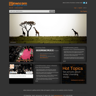 Newscom - Multimedia for Websites and Publishers