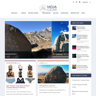 Moja Gear • Your hub for all things rock climbing.