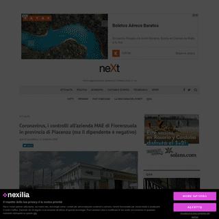 ArchiveBay.com - www.nextquotidiano.it/coronavirus-fiorenzuola-controlli-azienda-mae-provincia-di-piacenza/ - Coronavirus, i controlli all'azienda MAE di Fiorenzuola in provincia di Piacenza