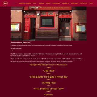 Sky Chinese Cuisine Newcastle