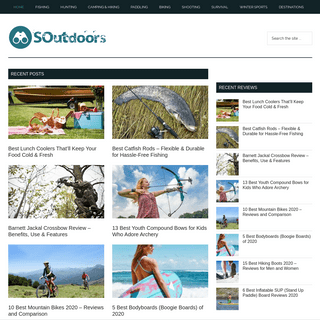 ArchiveBay.com - soutdoors.com - Scouting Outdoors - It's Just More Fun - The Outdoor World