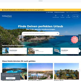 HolidayCheck – Hotels & Reisen mit Hotelbewertungen günstig buchen!