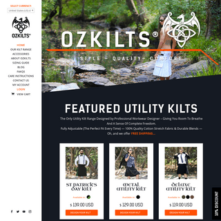 ArchiveBay.com - ozkilts.com - Home - OzKilts® - The Premium Utility Kilt