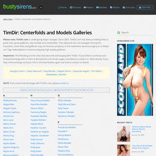 TimDir- Centerfolds and Models Galleries