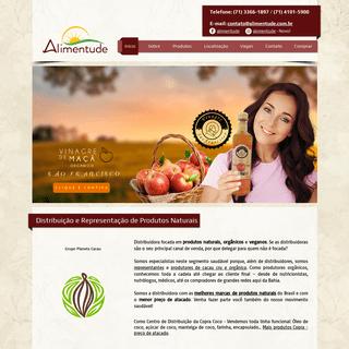 ArchiveBay.com - alimentude.com.br - Produtos Naturais Atacado, Salvador - BA