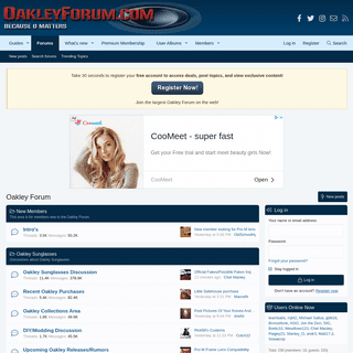 ArchiveBay.com - oakleyforum.com - Oakley Sunglasses & Products Forum - Oakley Forum