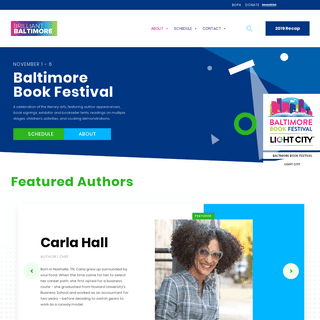 Baltimore Book Festival - Brilliant Baltimore