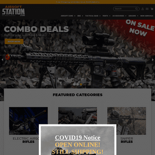 Airsoft Guns, Gear, & Accessories at Great Prices - Airsoft Station