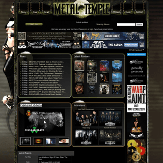 In League With Metal Since 2000 - Metal-Temple.com