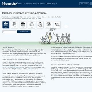 Homesite Insurance - Insurance in Minutes. Coverage for Good - Homesite