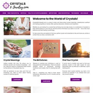 ArchiveBay.com - crystalsandjewelry.com - The Healing Crystals & Stones Blog - CrystalsandJewelry.com