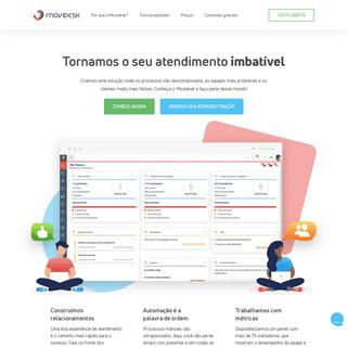 Movidesk - Sistema de atendimento, Help Desk e Service Desk